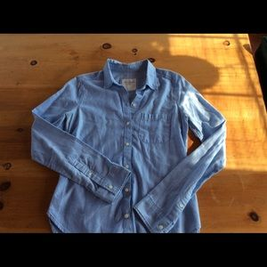 A&F soft button up